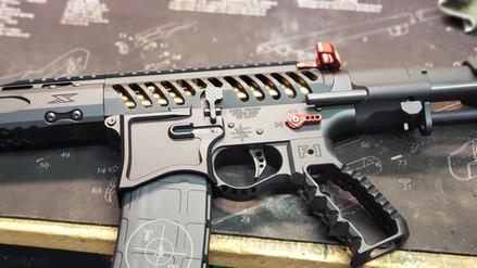 Seekins Precision & F1 Firearms AR15 pistol build