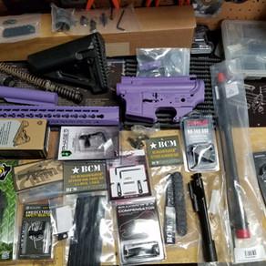 Purple AR-15 Build