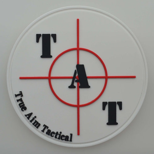 White TAT PVC Patch