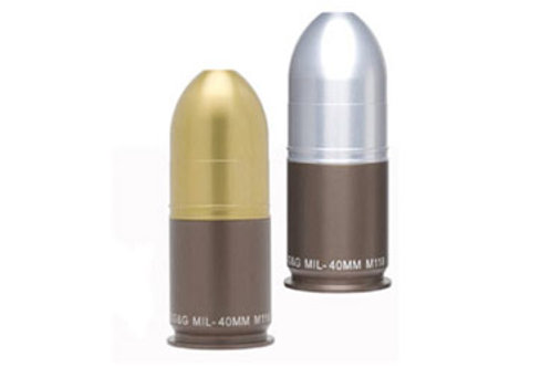 40MM GRENADE SALT & PEPPER SHAKER