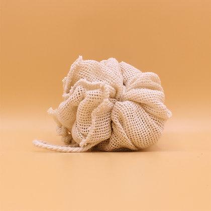 Mulitpurpose  Shower & Bath Pouf - Organic Cotton