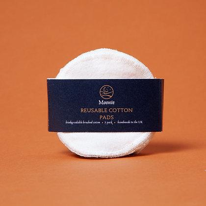 Reusable Cotton Pads - White - 7 PK