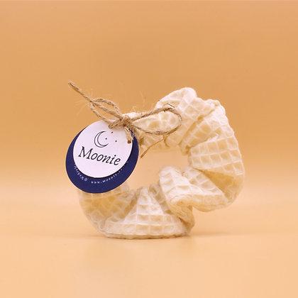 Zero Waste Hair Scrunchie - Cream Cotton
