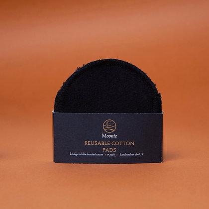Reusable Cotton Pads - Black - 7 PK