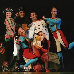 L'ALBERO AZZURRO theatre production