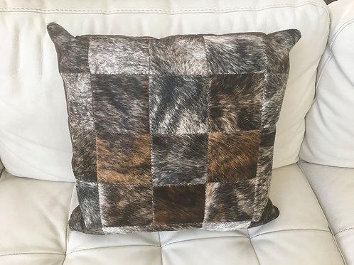Zimbela Nguni Patchwork Cushion Cover