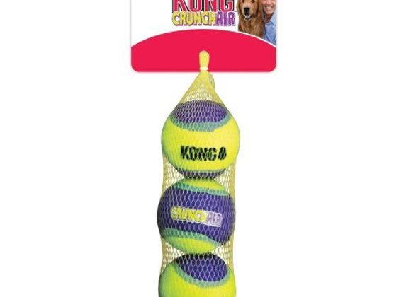 """צעצוע לכלב, כדורים שעושים תחושת ורעש """"קראנץ'"""" של חברת KONG"""