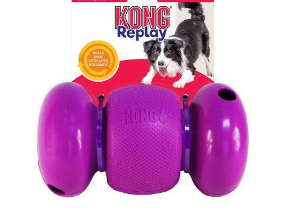 צעצוע האכלה לכלב קונג REPLAY להעסקת הכלב
