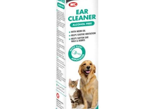 """נוזל לניקוי אוזניים לכלבים וחתולים 118 מ""""ל"""