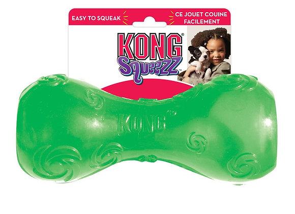 צעצוע נשיכה לכלב סקוויז צפצפני צבע ירוק
