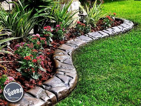 concrete curb landscape edging landscapi