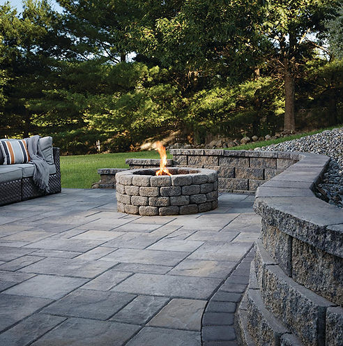 Landscaping block and paver installation in grand forks nd
