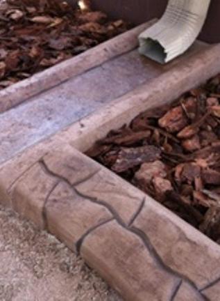 rain drain 2 - sahara sand - rustic brow