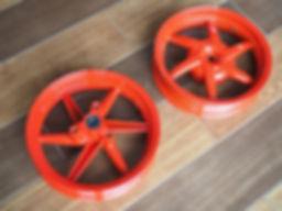 SCR Powdertech wheel