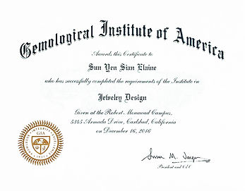 GIA Jewelry Design Certificate