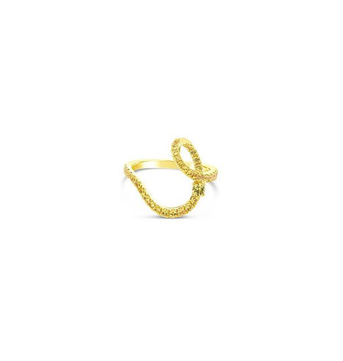 Yellow sapphire ring to match with your