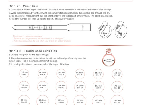 【免費下載實用指南!】如何量度戒指尺寸?