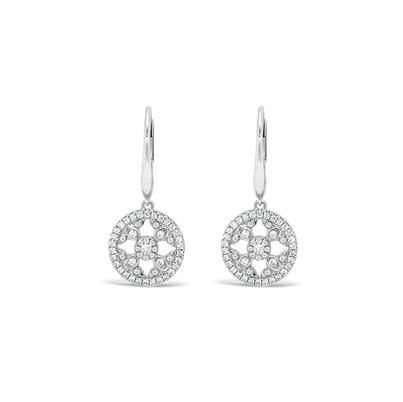 Dangle Diamonds Earrings