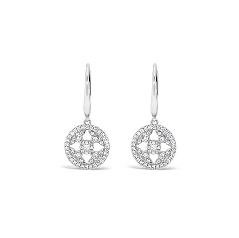 Dangle Diamonds Earrings