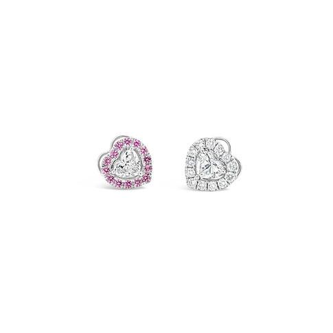 Heart Brilliant Diamond Earrings