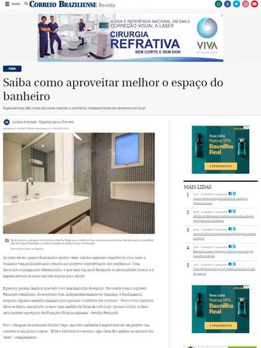 CORREIO BRAZILIENSE | APROVEITAMENTO DE ESPAÇOS