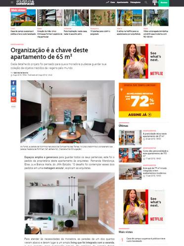ARQUITETURA E CONSTRUÇÃO | APARTAMENTO ALFREDO PUJOL