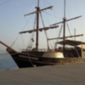Galeon Bucanero Barco Muelle Cartagena