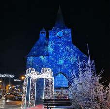Les lumiéres de Noel à St Mars D'Egrenne