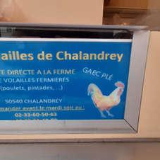 Volailles de Chalendrey - Domfront Marché chaque Vendredi