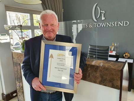 Betts & Townsend Awarded Golden Arrow