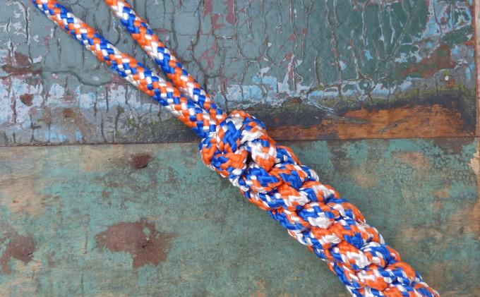 Blau/ Orange
