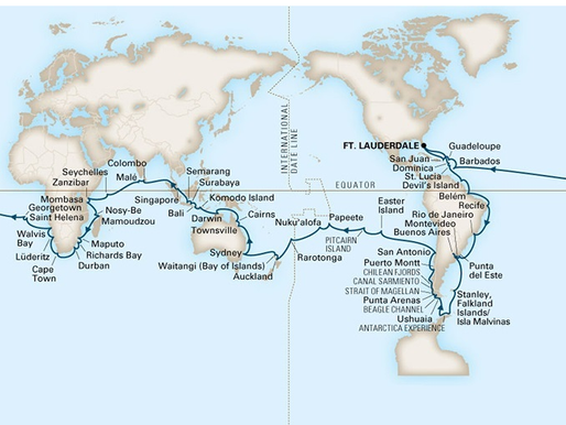 Can You Really See The World on a World Cruise?