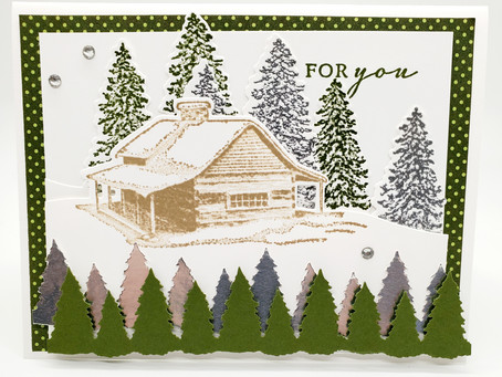 Peaceful Cabin Card For You!