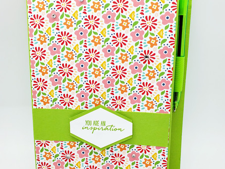 Gift Idea: Notepad Holder for 5 x 8 and 5 x 7 notepads!