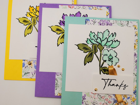 Hand-Penned Petals Thank you Cards!