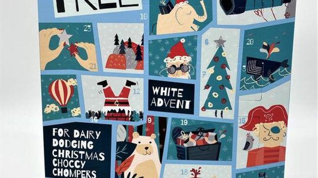Moo Free Advent Calendar - White Choc