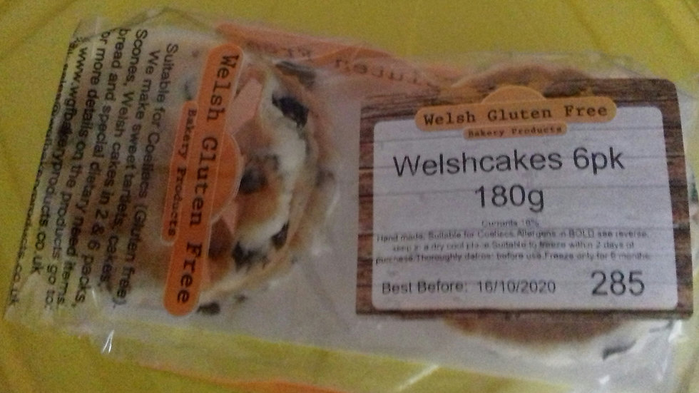Welsh Cakes - (GF/DF)