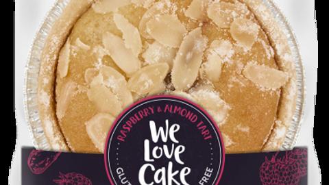 We Love Cake - Almond and Raspberry tart