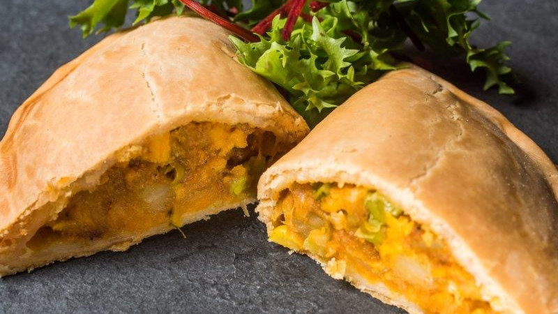 Curried Vegetable Pasty