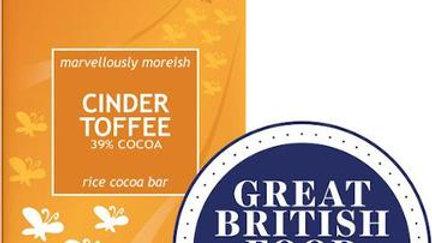 Moo-Free Cinder Toffee large Bar