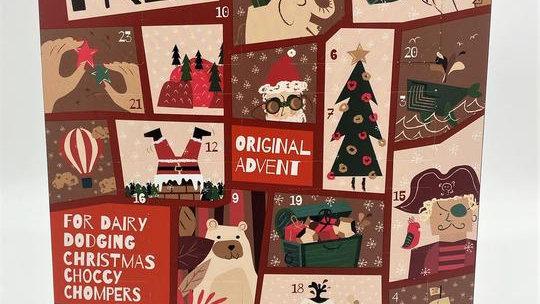 Moo Free Advent Calendar - Milk Choc