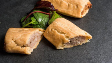 Sausage rolls (Pk of 2)  (GF/DF)