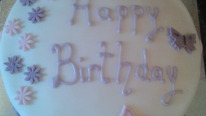 Simple Celebration Cake (GF/DF)