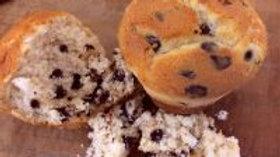 2 x Choc Chip Muffins - GF/WF/Nut F