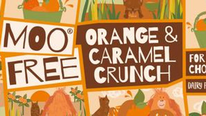 Valencian Orange Caramel Crunch 35g