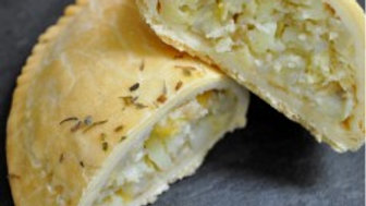 Cheese and Onion Pasty (GF)