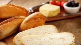 3 x White Sandwich Rolls - GF/WF/DF/Soya Free/Nut F/High Fibre/Low Fat