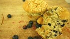 2 x Blueberry Muffins - GF/WF/Nut F/DF/Soya Free