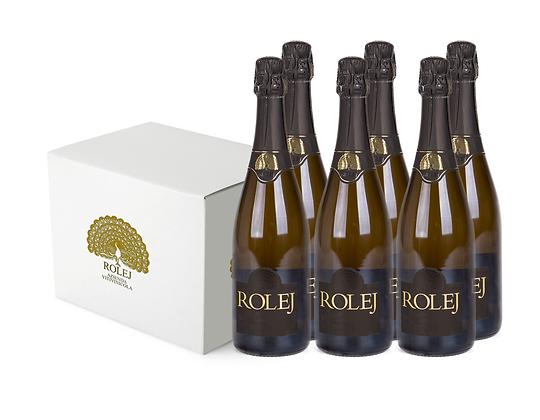 Box 6 Bottiglie Brut Spumante Charmat