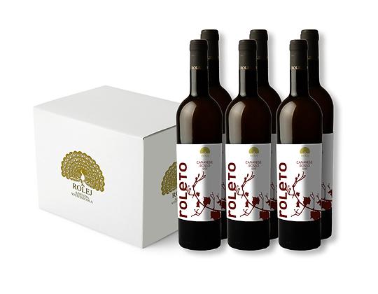 Box 6 Bottiglie Canavese Rosso DOC